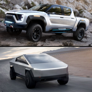 Nikola Badger vs Tesla Cybertruck