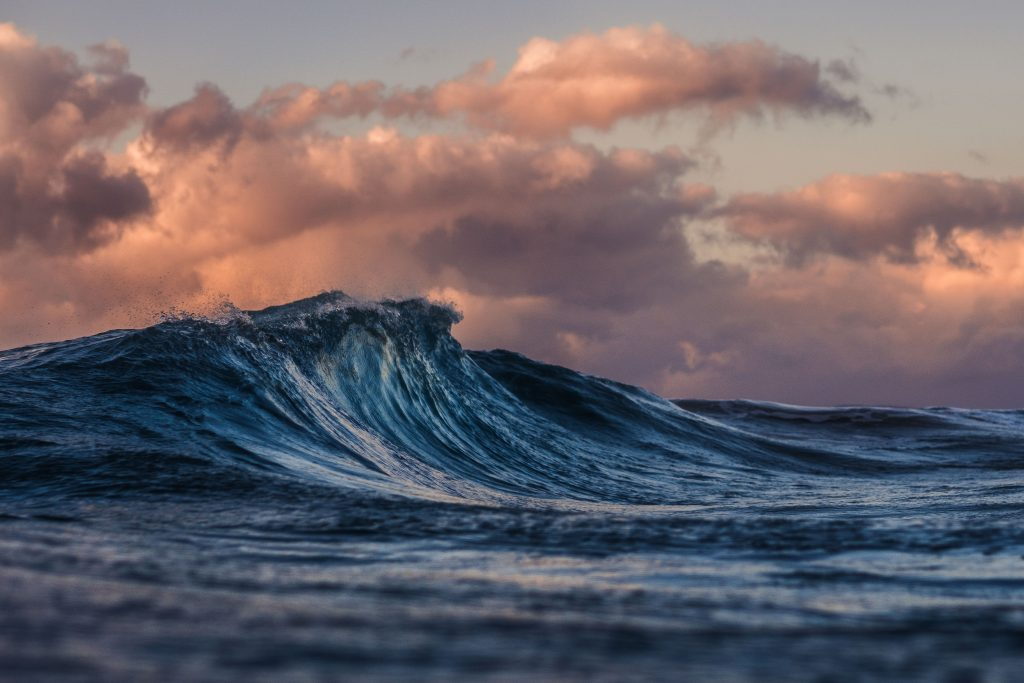 Harnessing the energy of waves is approaching affordability. (Image: Unsplash)