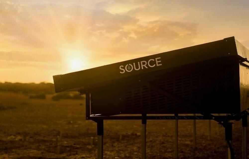 SOURCE's revolutionary technology will do for drinking water what solar panels have done for electricity, making water a renewable resource. (Image: SOURCE)