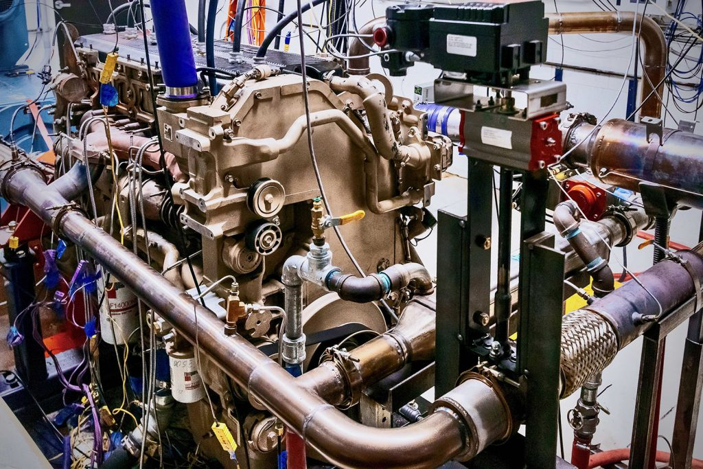 Clear Flame is adapting diesel engines to run on Ethanol. (Image: ClearFlame)