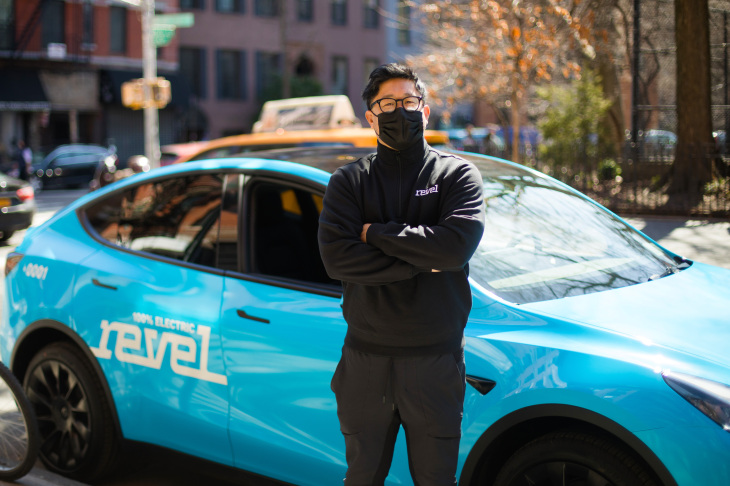 Revel gets approval for EV only rideshare service (Image: Revel)