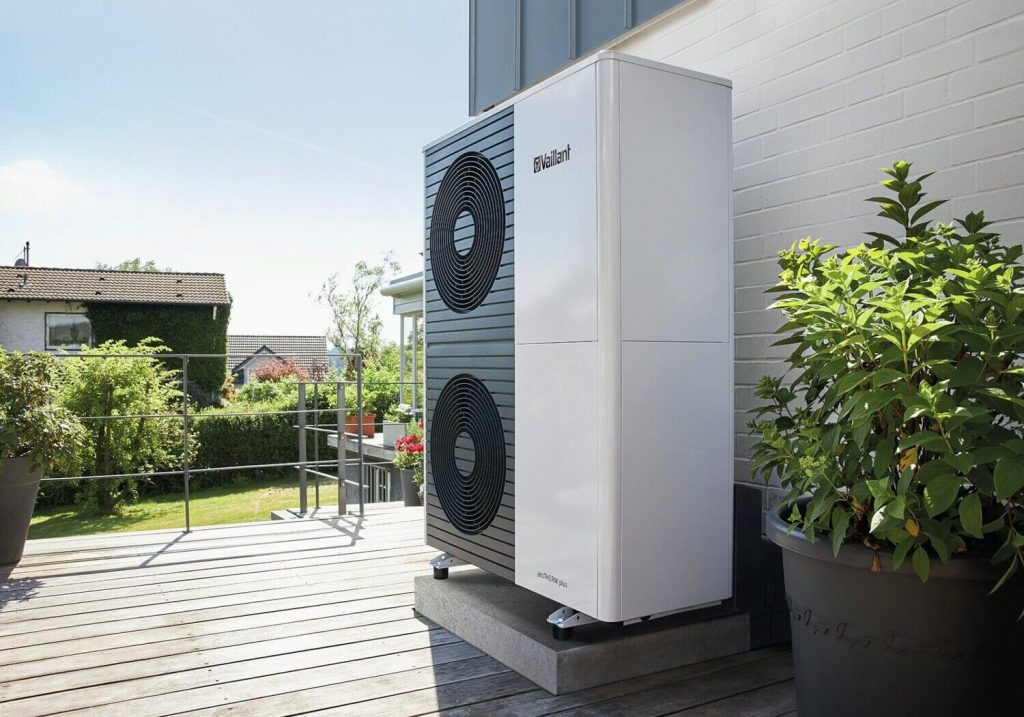 The argument for air source heat pumps over ground source heat pumps. (Image: Green Square)