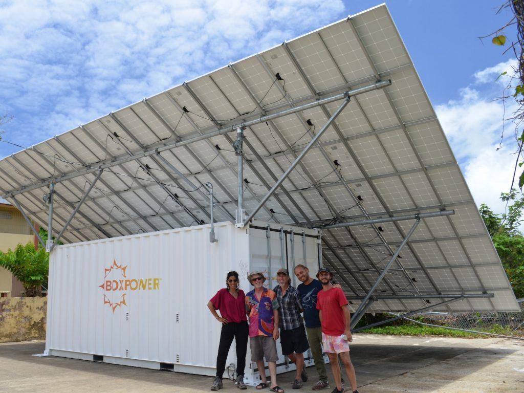 BoxPower install in Puerto Rico. (Image: BoxPower)